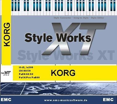 EMC Style Works XT Korg