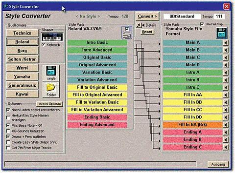 EMC Style Works 2000 Universal converteert styles van alle merken!
