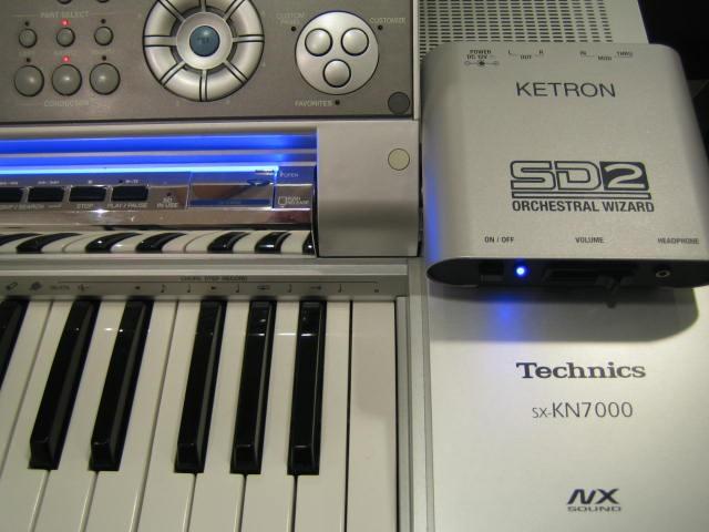 Ketron SD2 voor KN7000