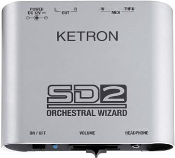 Ketron SD2 voor KN6000 & KN6500