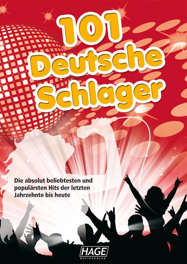 Hage 101 Deutsche Schlager incl. 101 MIDI-files (GM systeem) GM3646U