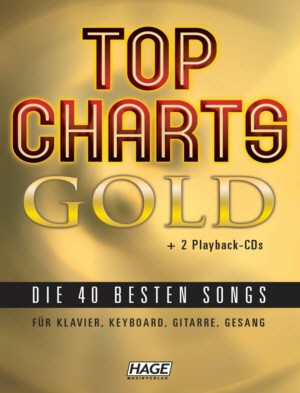 Hage: Top Charts Gold (incl  2 CD's) + 40 midi-files (óók speciaal voor  Yamaha XG/XF systeem)