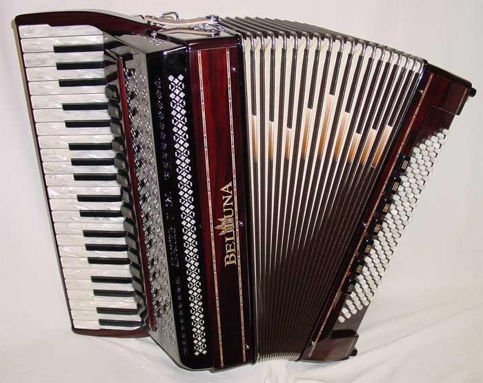 Beltuna Alpstar V 120 CM Hel/Reg Black accordeon