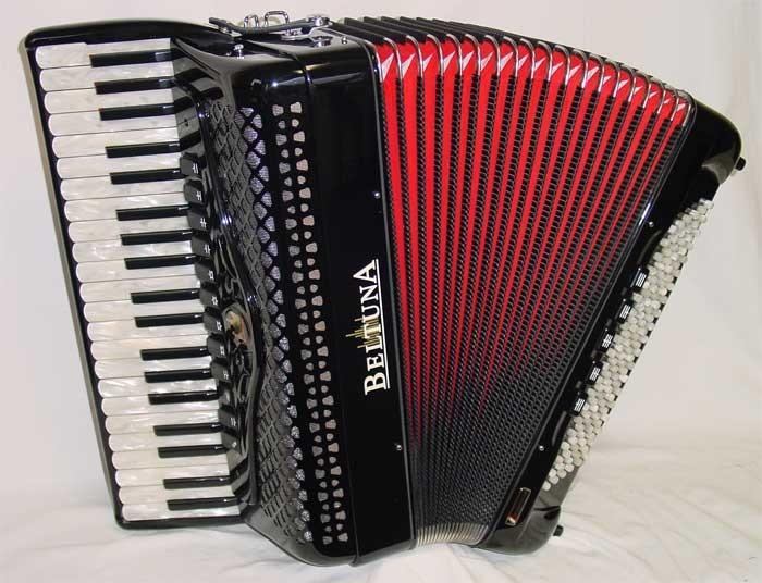 Beltuna Studio IV 120 P/M houten toetsen