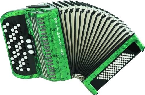 Weltmeister Romance 602 knop 72/II B-greep green