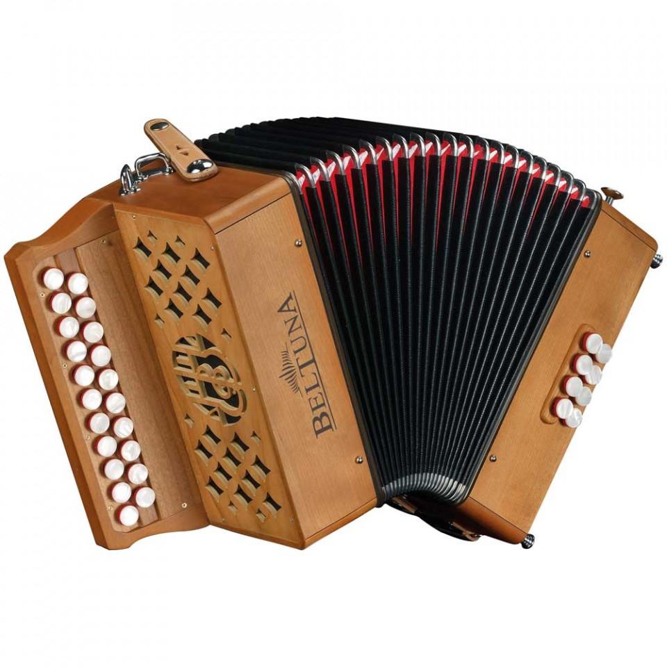 Beltuna Sara 2 diatonische harmonica (trekzak)