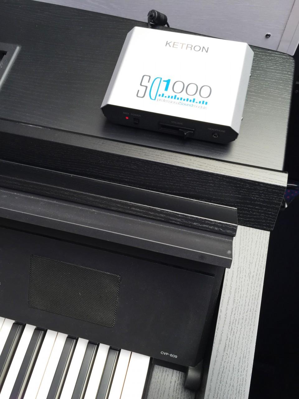 Ketron SD1000 incl. SoundPatch voor CVP-609