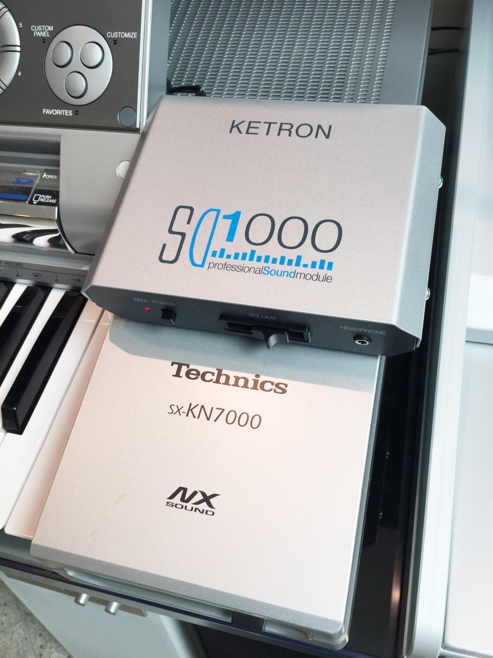 Ketron SD1000 voor Technics KN6000 & KN7000
