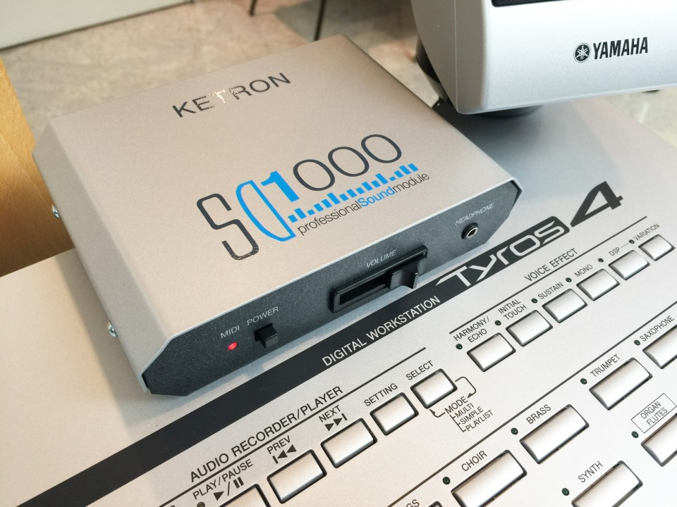 Ketron SD1000 incl. SoundPatch voor Tyros4