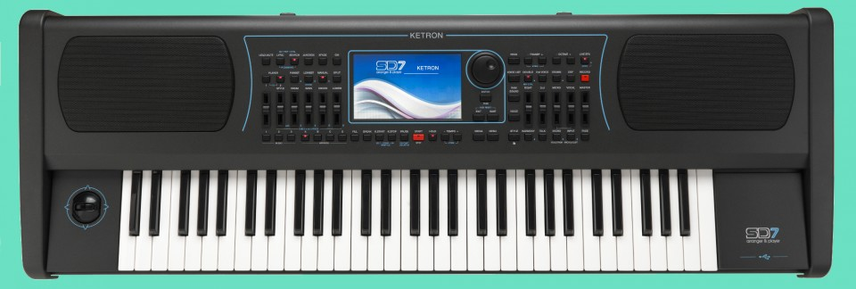 Ketron SD7 Arranger Keyboard
