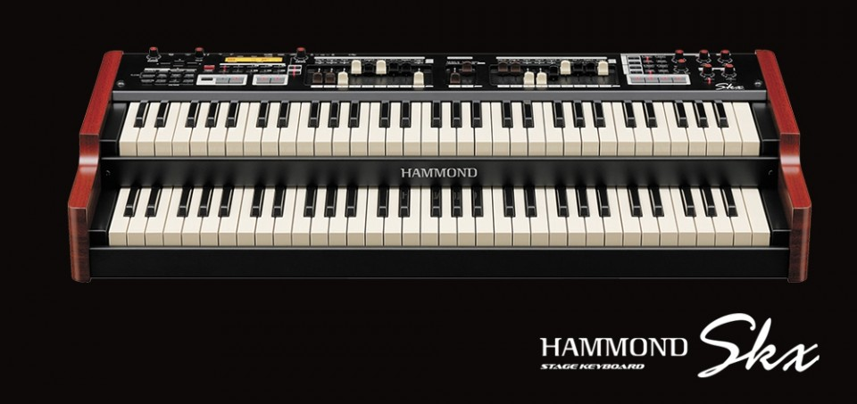 Hammond SKX keyboard organ Demo