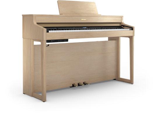 Roland HP702 LA digitale piano in licht eiken