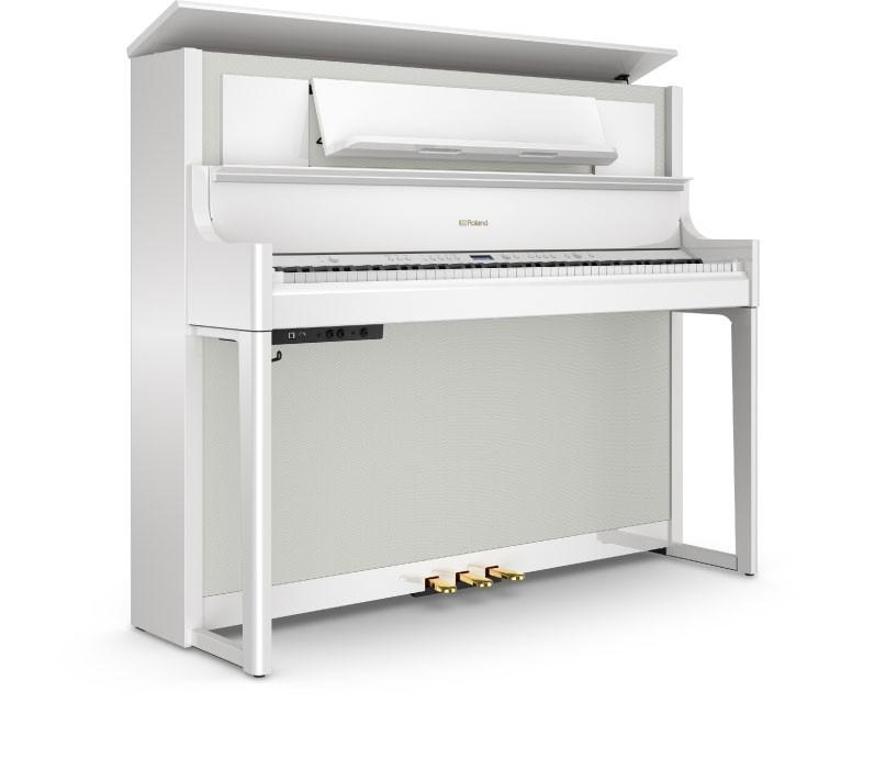 Roland LX708 PW digitale piano wit hoogglans