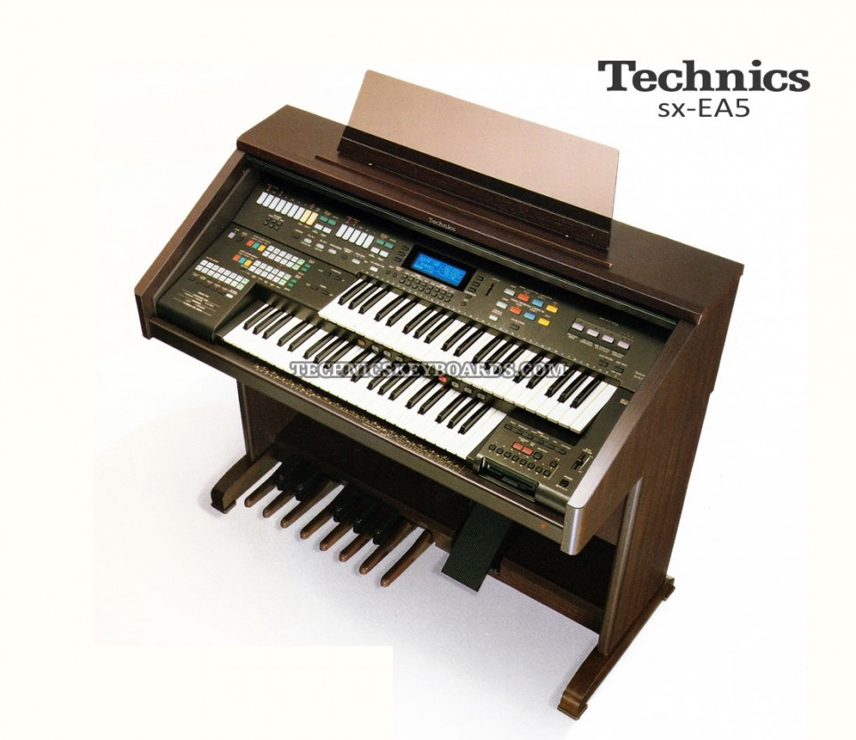 Technics orgel EA5 occasion