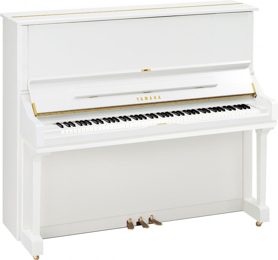 Yamaha U3 PWH piano wit hoogglans