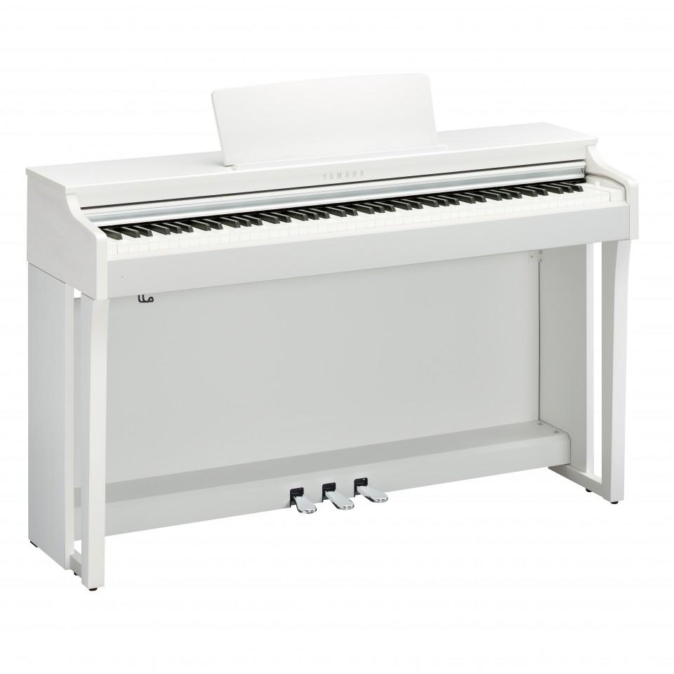 Yamaha CLP-625 WH digitale piano White Satin