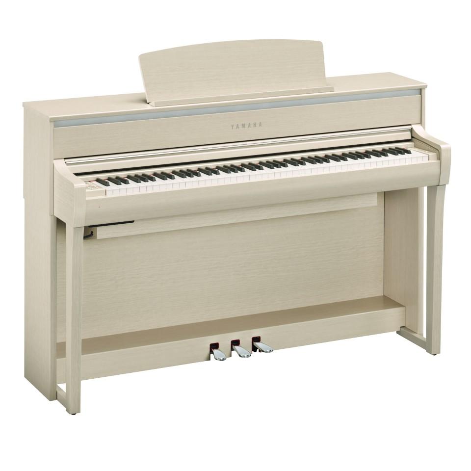 Yamaha CLP-675 WA digitale piano White Ash