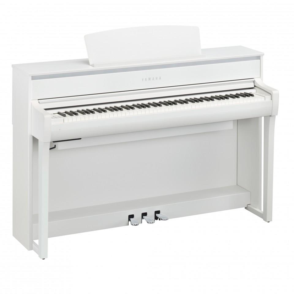 Yamaha CLP-675 WH digitale piano White Satin