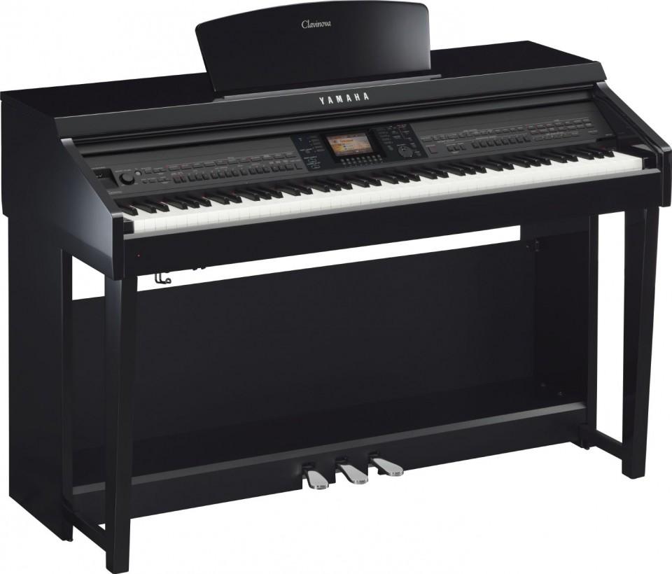 Yamaha CVP-701 PE (zwart hoogglans)