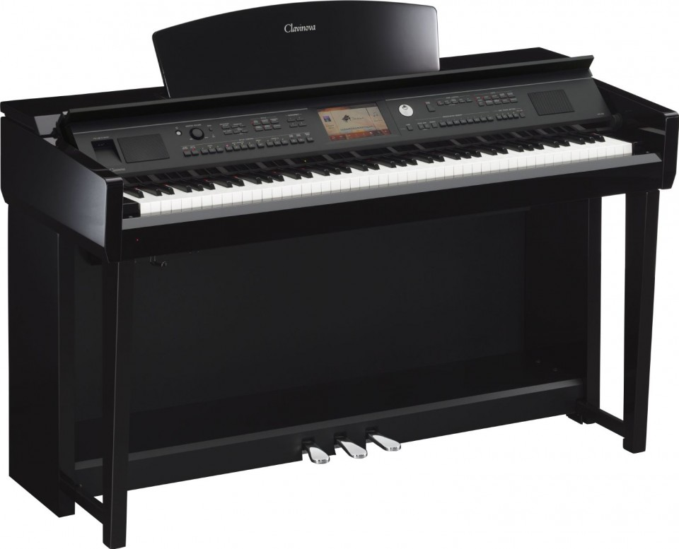 Yamaha CVP-705 PE (zwart hoogglans)