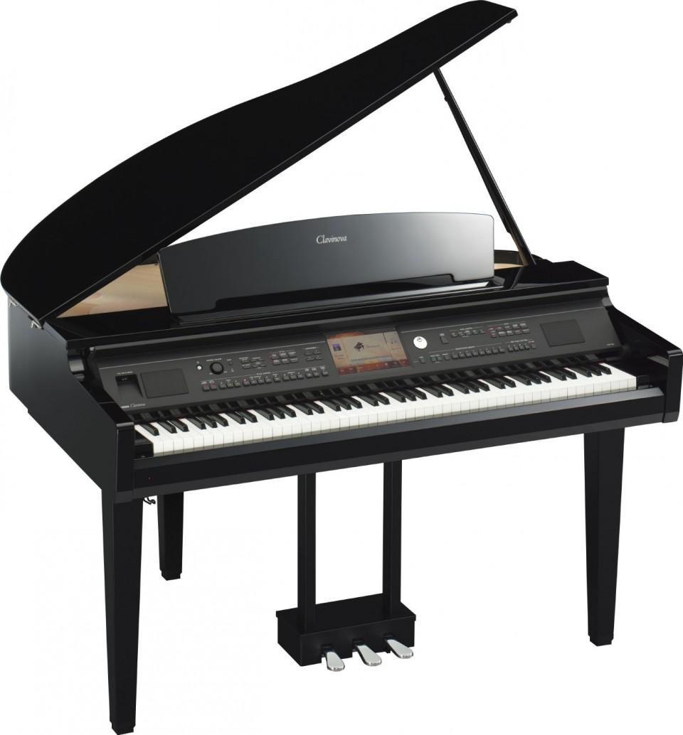 Yamaha CVP-709GP PE zwart hoogglans