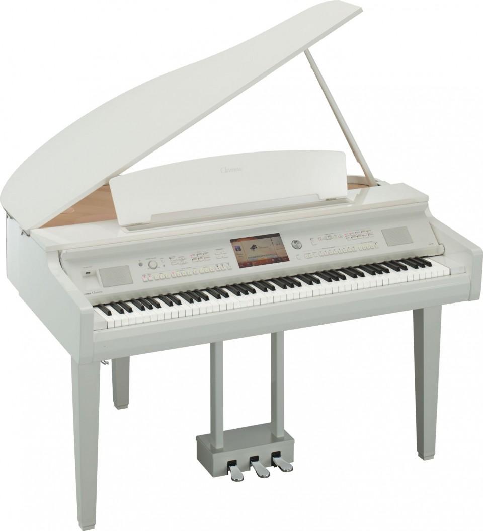 Yamaha CVP-709GP PWH (wit hoogglans)
