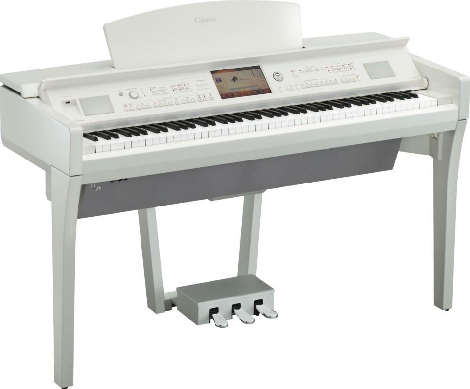 Yamaha CVP-709 PWH (wit hoogglans)