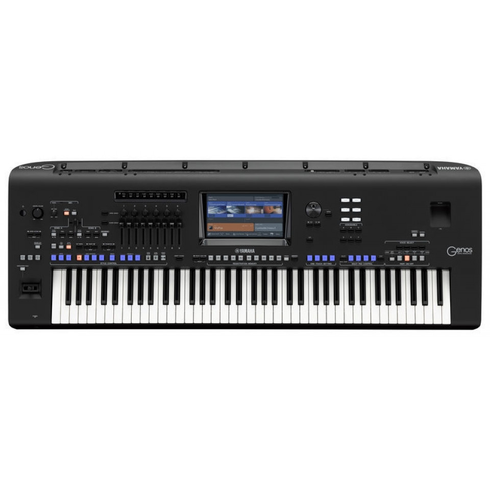 Yamaha Genos Version 2.0 Workstation Keyboard