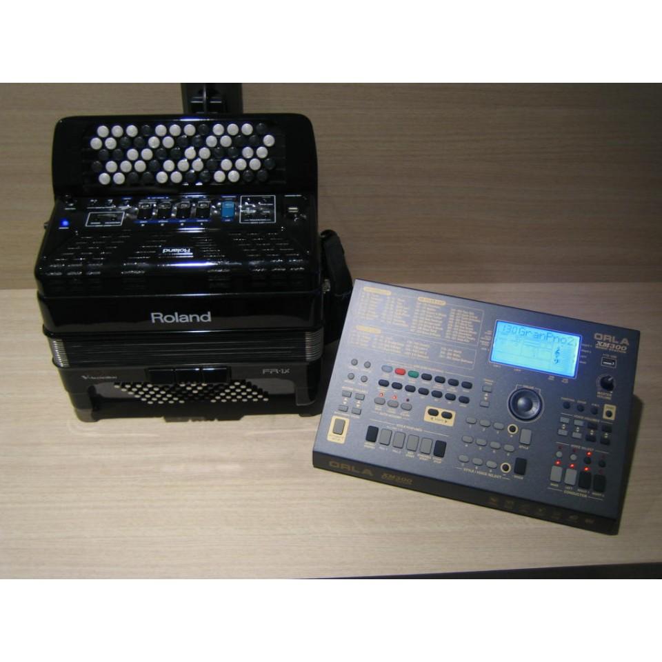 Roland FR-1Xb BK & Orla XM300