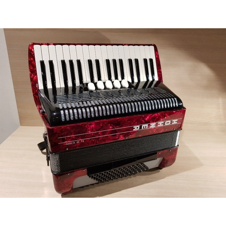 Hohner Amica III 72 Red (design 1)