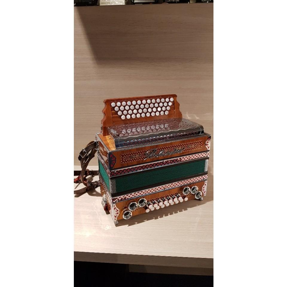 Polverini steir. harmonica demo G/C/F/Bb STE-004-X