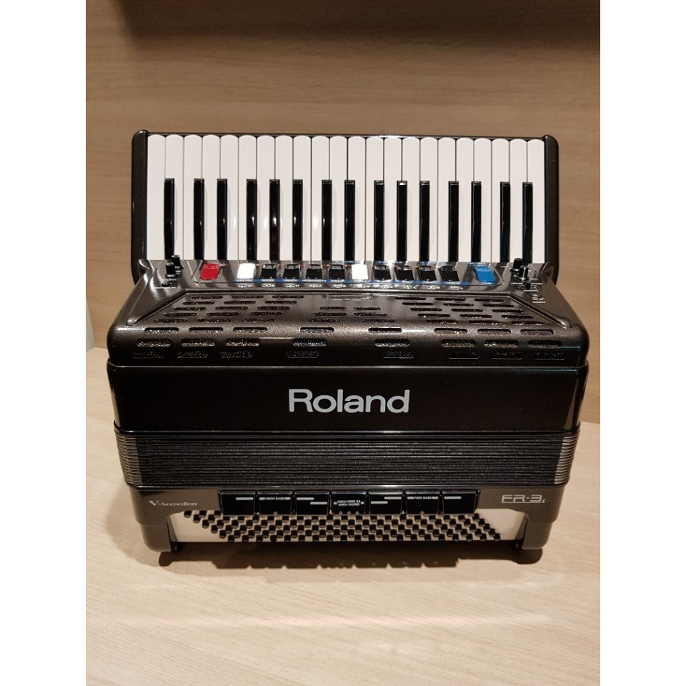 Roland FR-3s Grey V-Accordion Occasion