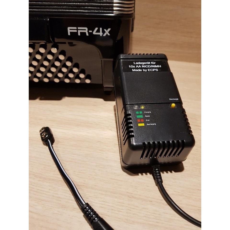 Roland V-Accordion Batterij-lader voor Roland FR-3X en FR-4X