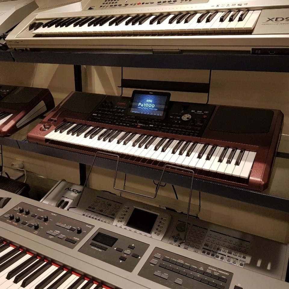 Korg Pa1000 Professional Arranger Keyboard occasion