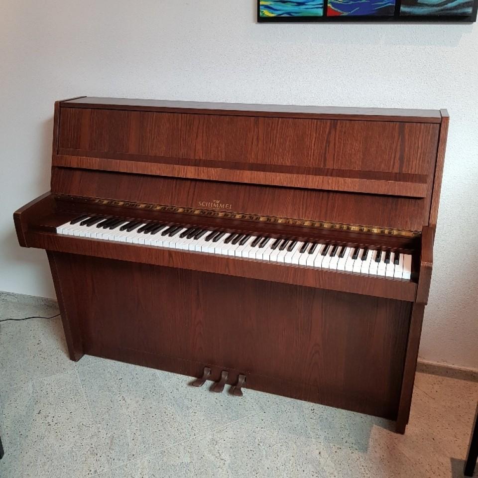 Schimmel 112 topklasse piano occasion (1977)