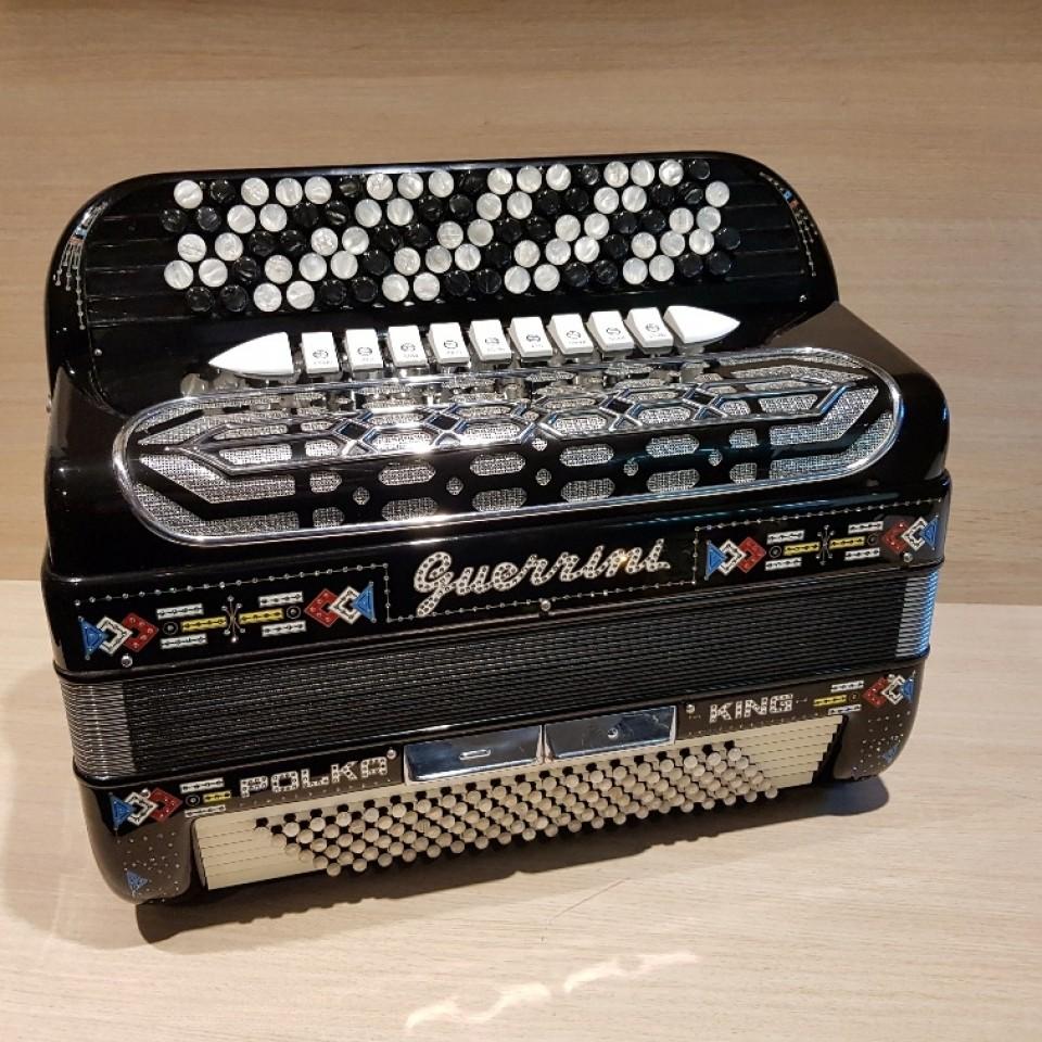 Guerrini Polka King IV M B-Griff accordeon occasion