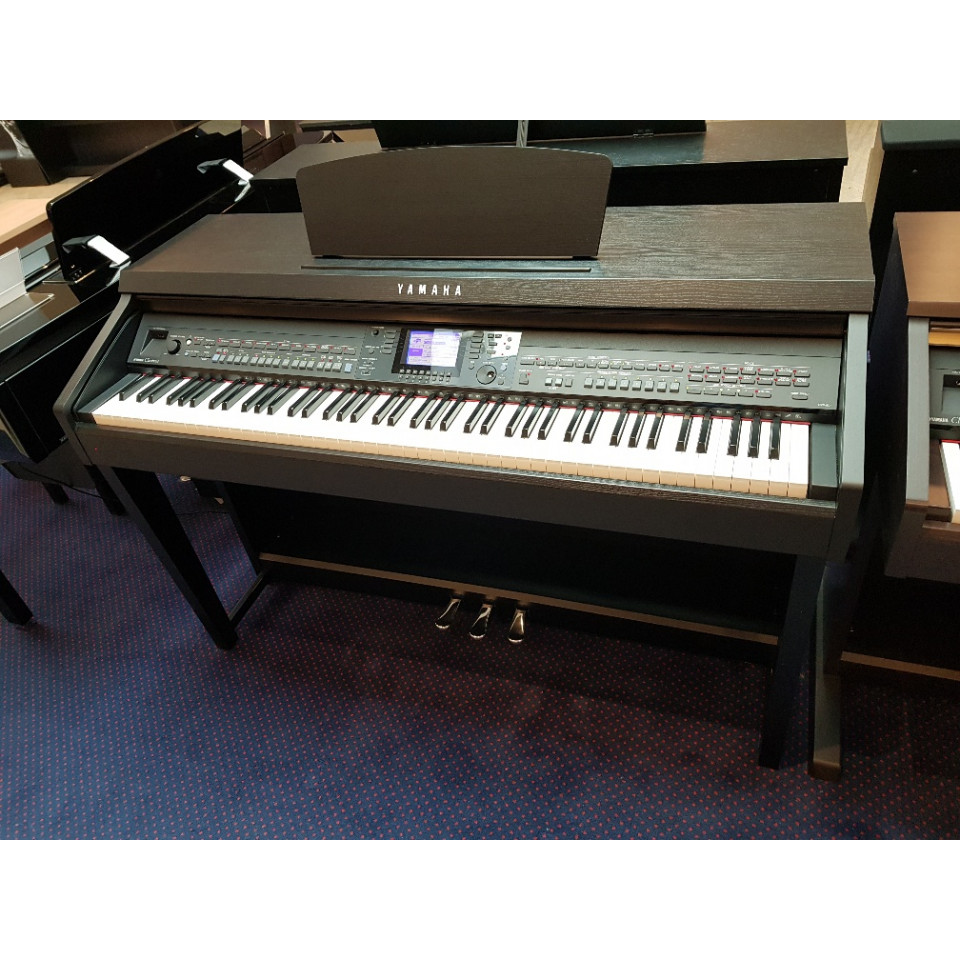 Yamaha CVP-601 Black Satin Occasion