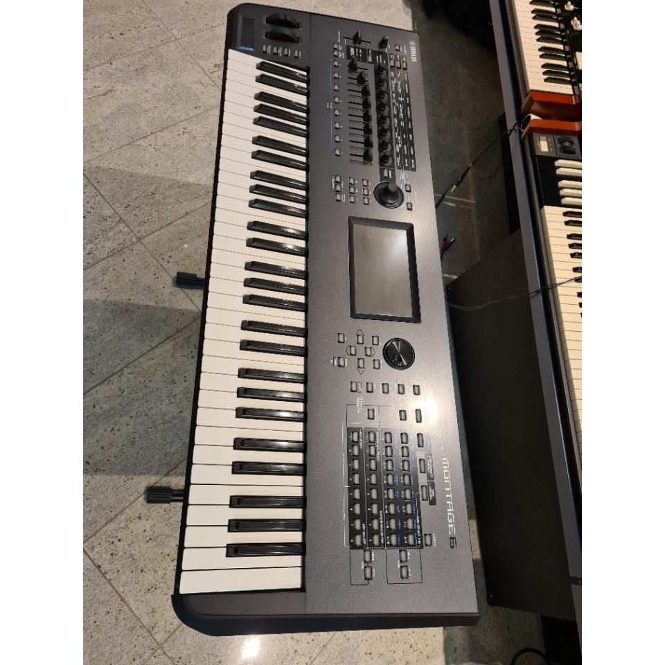 Yamaha Montage 6 synthesizer occasion