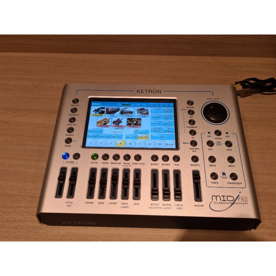 Ketron MidjPro Multi Media Player occasion Version 1.5.1