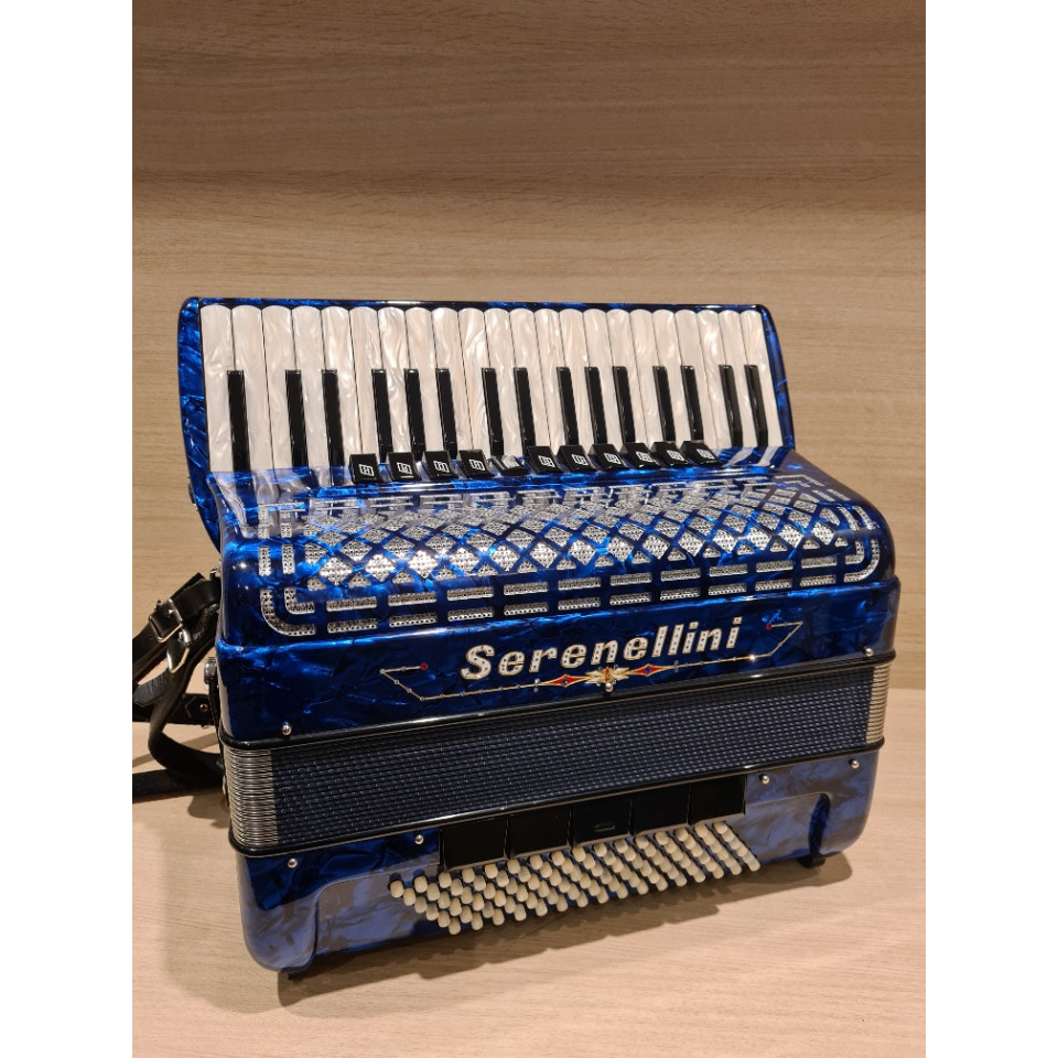 Serenellini IV 96 M blue 4-korig musette occasion