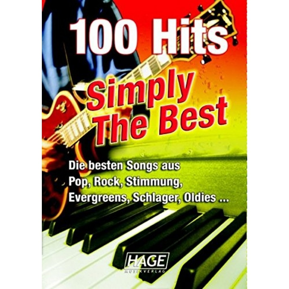 Hage 100 Hits Simply The Best + 100 midi-files occasion (speciaal voor Yamaha XG/XF systeem)