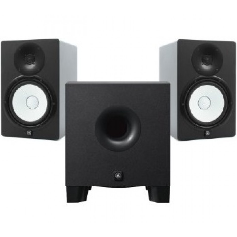 Yamaha HS7 actieve studio monitor set incl. HS8S subwoofer