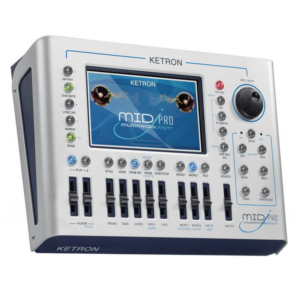 Ketron MidjPro Multi Media Player