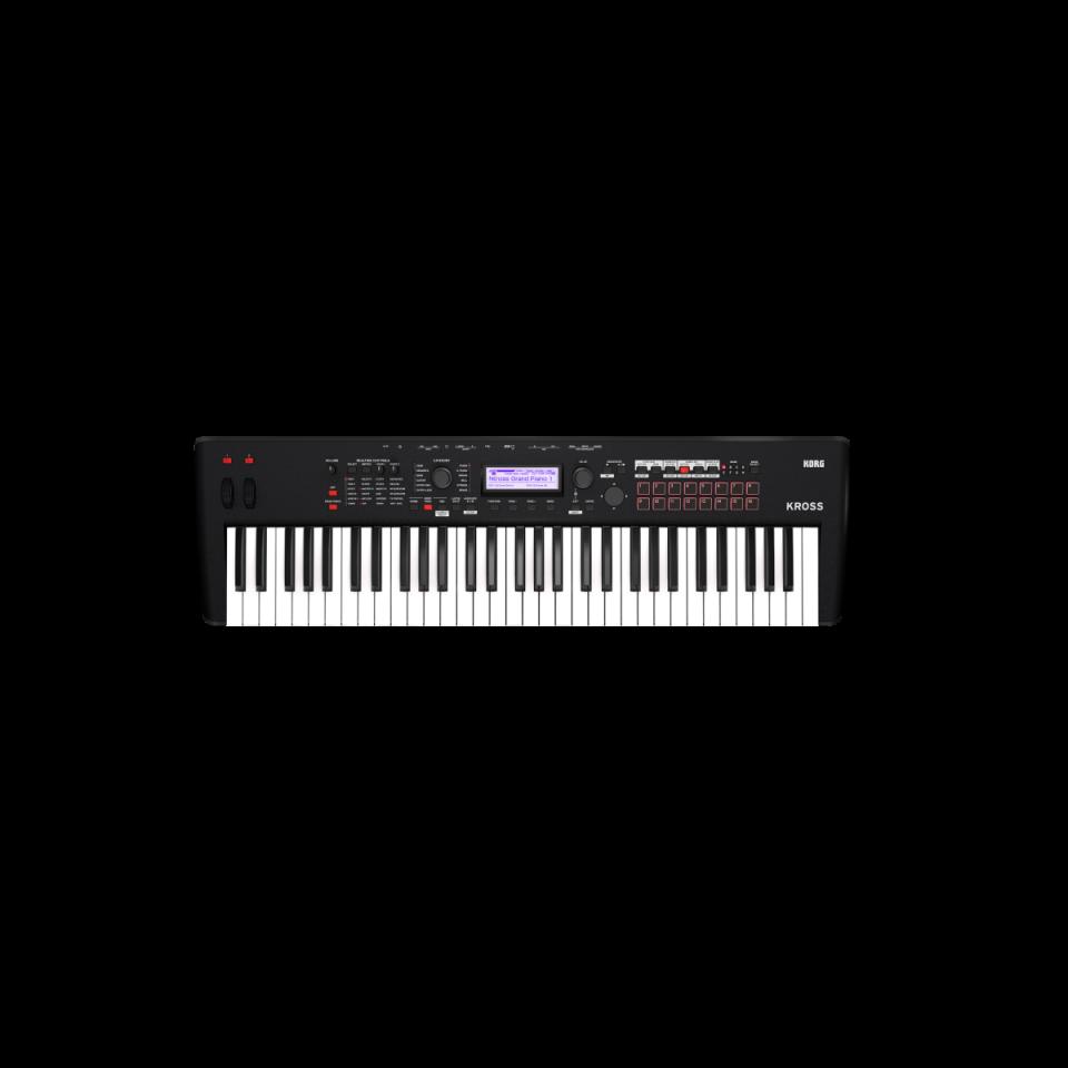 Korg Kross 2-61 MB (Super Matte Black) Synthesizer