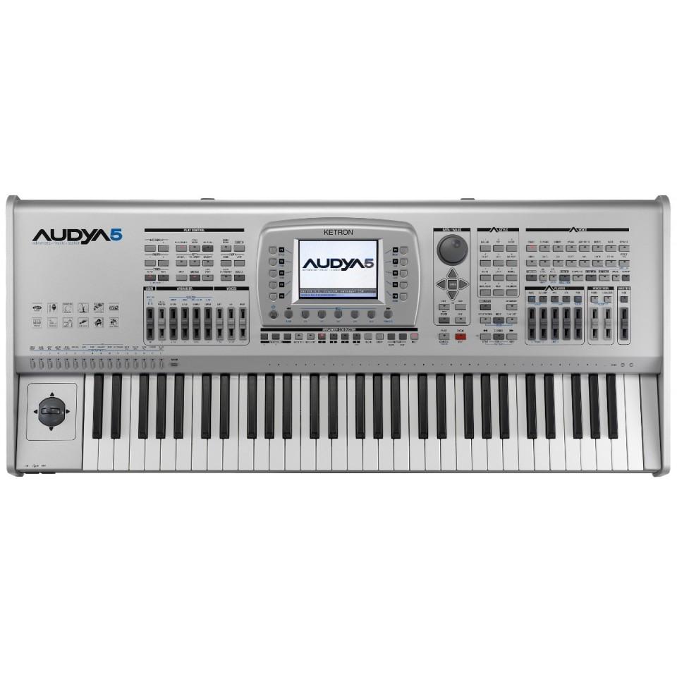 Ketron AUDYA5 AJAMSONIC SSD arranger keyboard