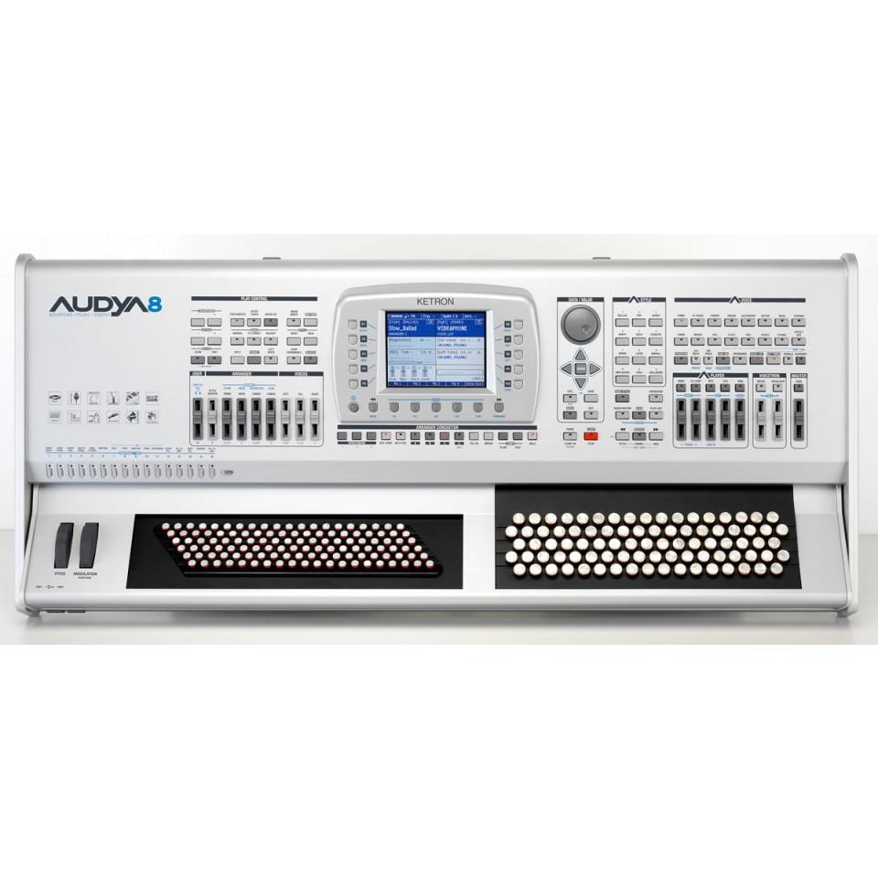 Ketron AUDYA8 AJAMSONIC SSD chromatic keyboard
