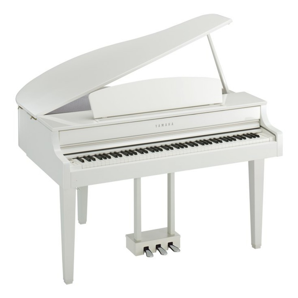 Yamaha CLP-665GP WH  digitale vleugel Polished White