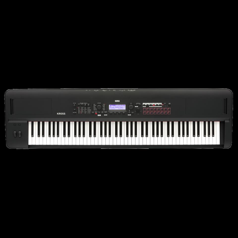 Korg Kross 2-88 MB (Super Matte Black) Synthesizer
