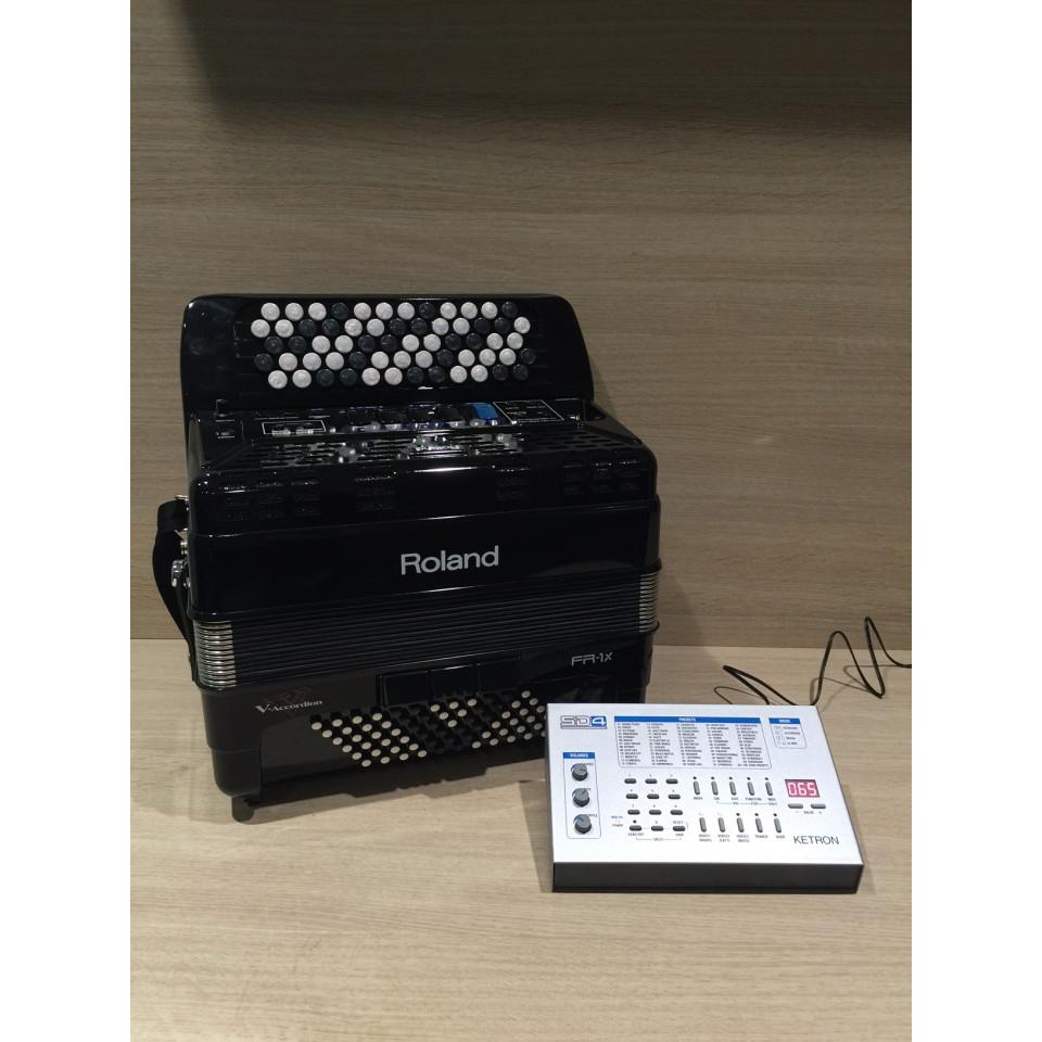 Roland FR-1Xb BK + Ketron SD4