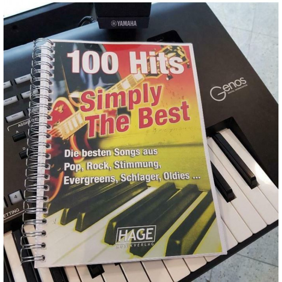 Hage 100 Hits Simply The Best incl. 100 MIDI-files occasion (GM systeem)